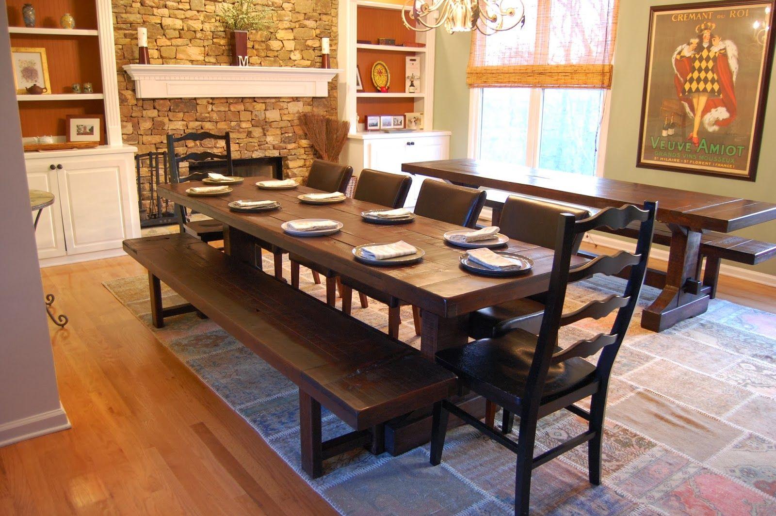 Huomaavaiset huonekalut maalaistaloon
