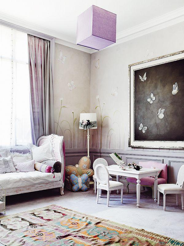 Детска стая в стил Прованс-2