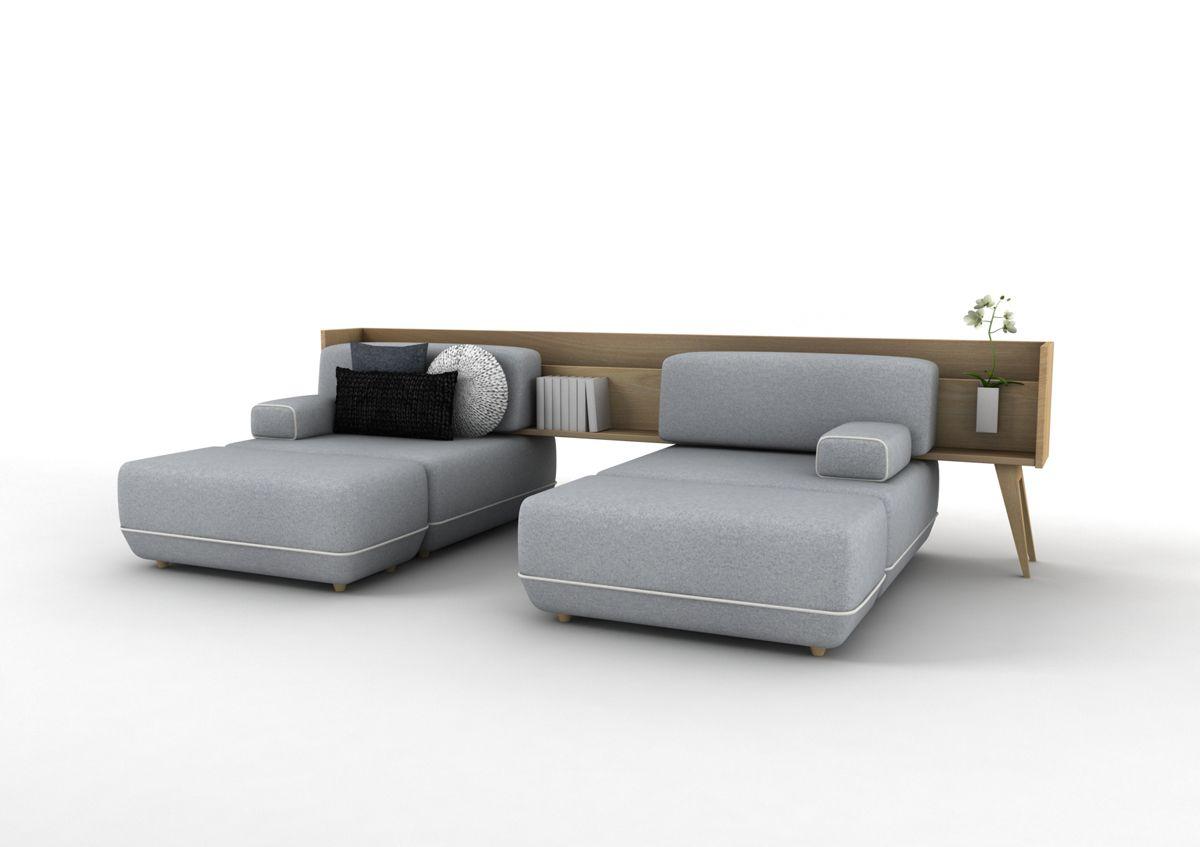 Два трансформирующийся дивана