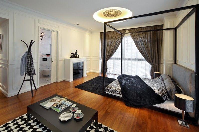 черна спалня6