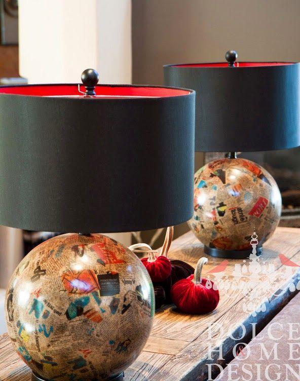 Очаровательная лампа как акцентная деталь интерьера