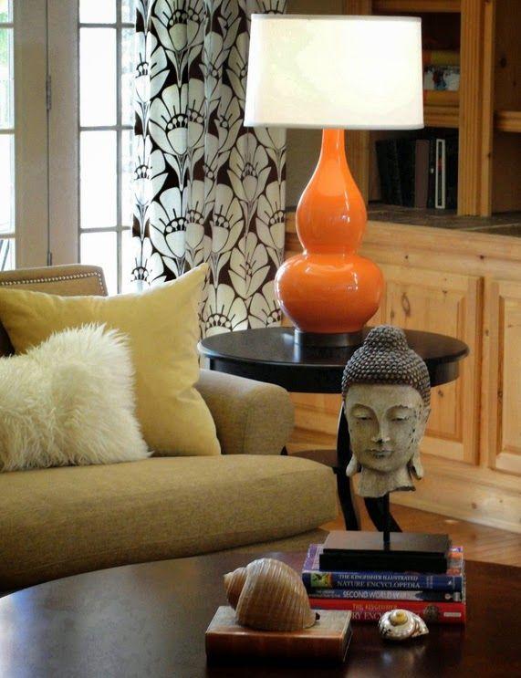 Чудесная лампа как акцентная деталь интерьера
