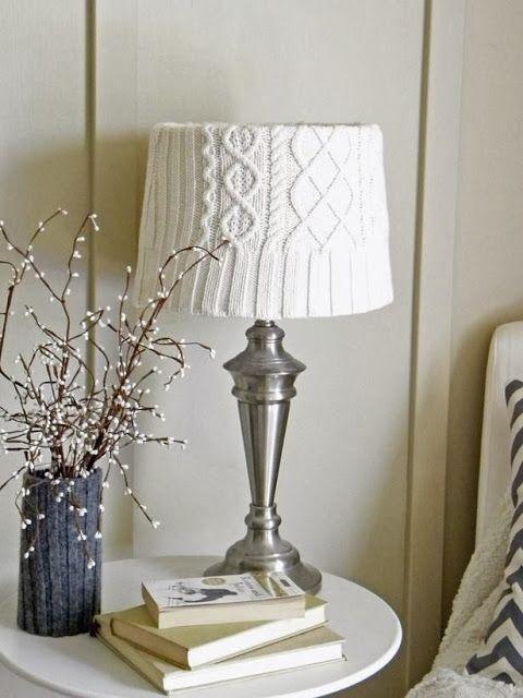Уникальная лампа как акцентная деталь интерьера