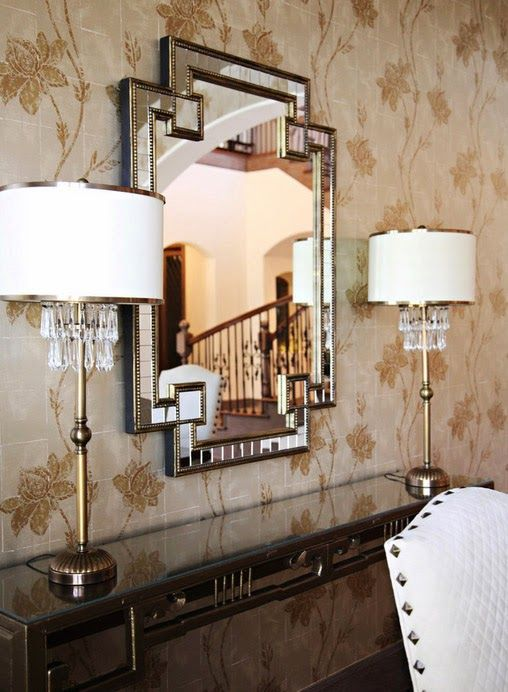 Прекрасна лампа като акцентно парче от интериора