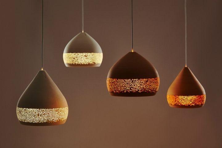 Дизайн разноцветных подвесных светильников SpongeOh