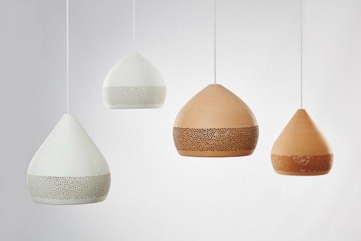 Подвесные светильники куполообразной формы SpongeOh