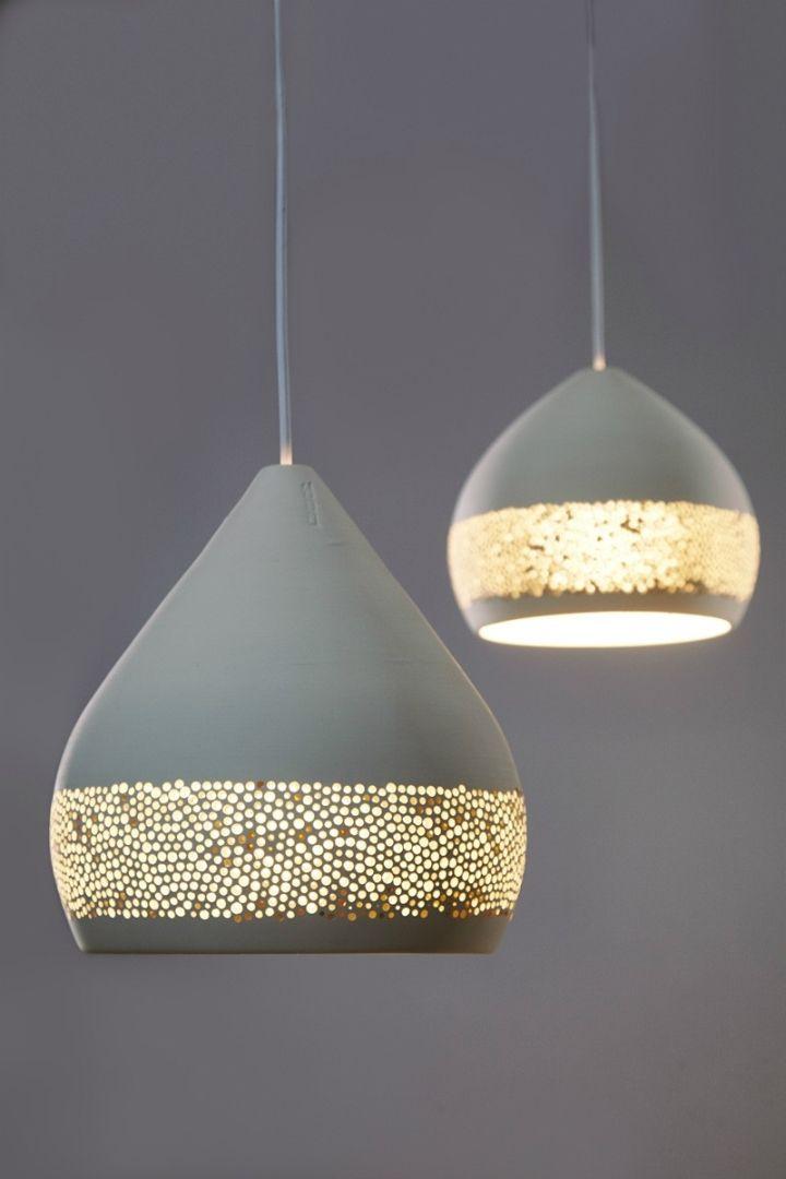 Универсальный дизайн подвесных светильников куполообразной формы фисташкового цвета SpongeOh