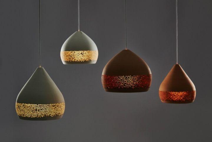 Универсальный дизайн разноцветных подвесных светильников SpongeOh куполообразной формы