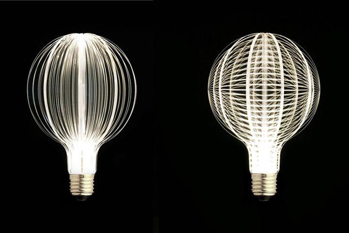 Оригинальные дизайнерские лампочки от NAP