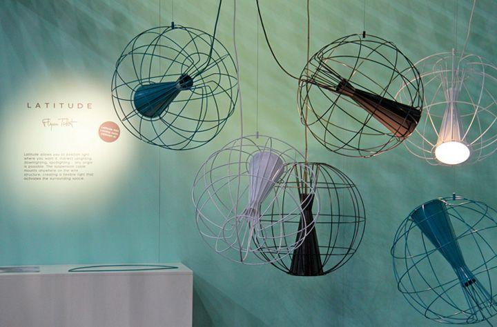 Металлические светильники Latitude от Flynn Talbot