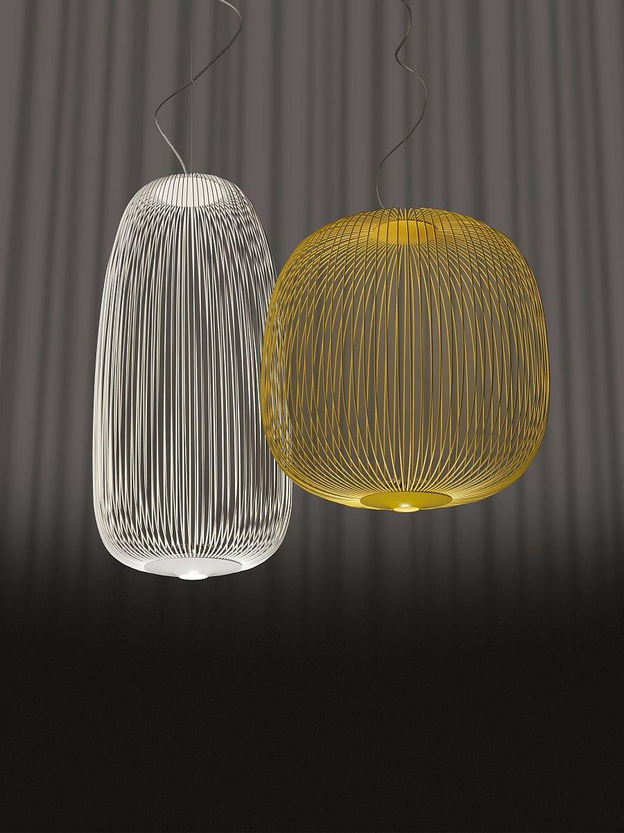 Подвесные светильники Spokes от Foscarini