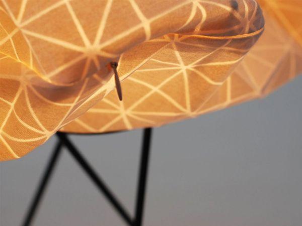 Красивый флакон для светильников от Микки Бара