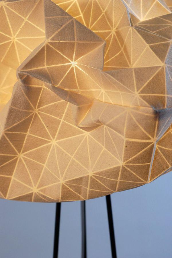 Флакон лампы-облака от Микки Бара
