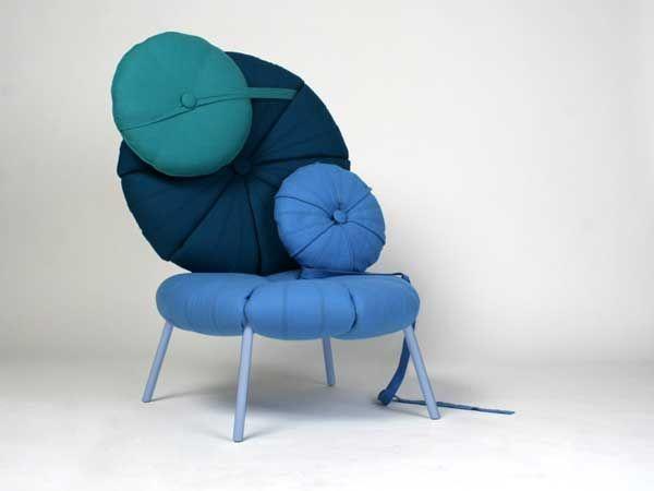 Møbler system i vakre farger