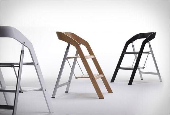 Fantastiske stepladder stoler