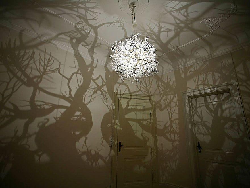 Замечательный дизайнерский потолочный светильник
