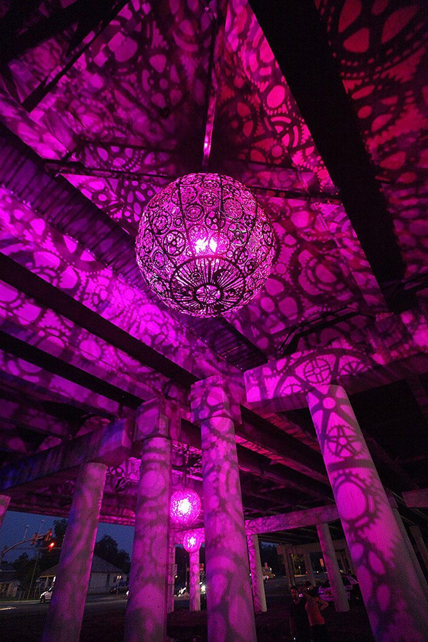 Волшебный дизайнерский потолочный светильник