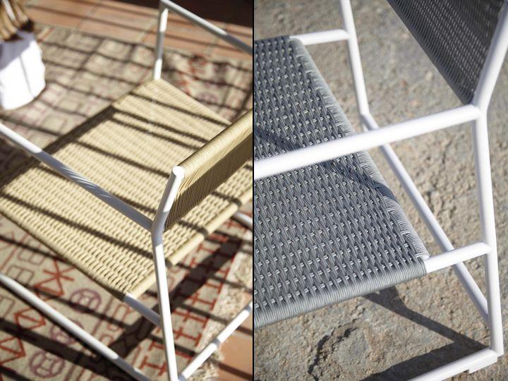 Материал стула для улицы от Mariana Lerma