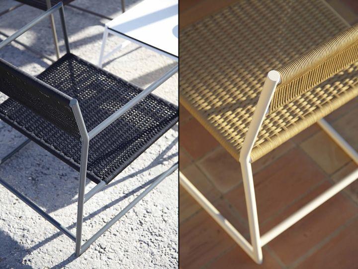 Красивые стулья для улицы от Mariana Lerma