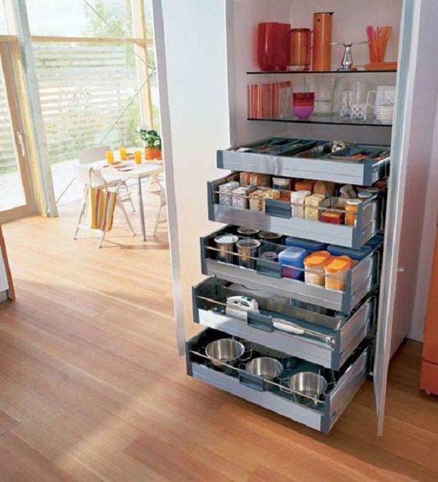 Pięknym i bardzo ciekawym przykładem jest umieszczenie takich pudełek, które pozwolą zaoszczędzić przestrzeń użytkową.