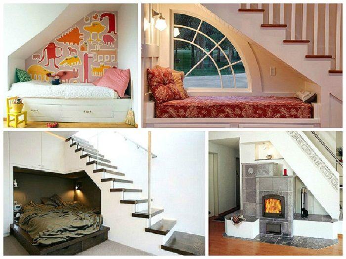 Fajne rozwiązanie, aby stworzyć przytulną atmosferę w każdym z pomieszczeń, tworząc miejsce do wypoczynku.