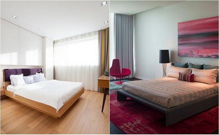 Примеры оформления спален на любой вкус.