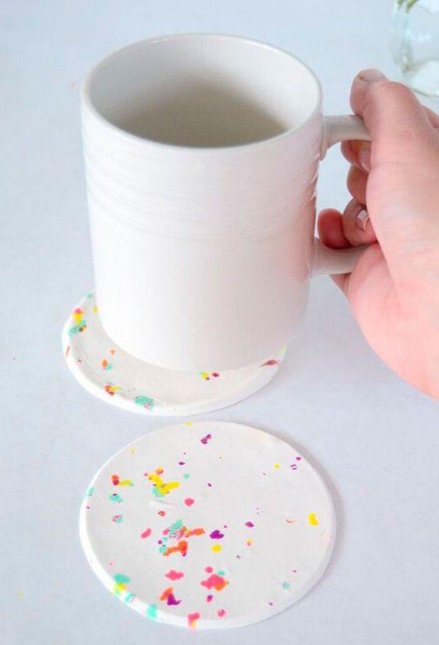 15 быстрых и простых идей, как сделать подстаканники своими руками
