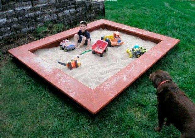 Comment construire un bac à sable de vos propres mains?