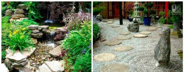 Сад камней своими руками на даче: фото
