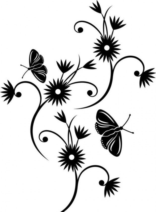 Трафареты для стен: шаблоны и виды