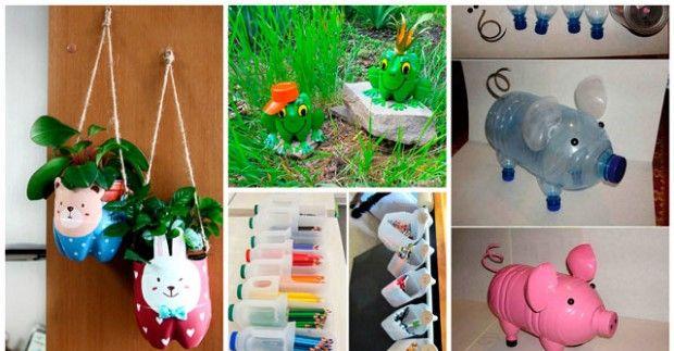 Какво може да се направи от пластмасови бутилки?
