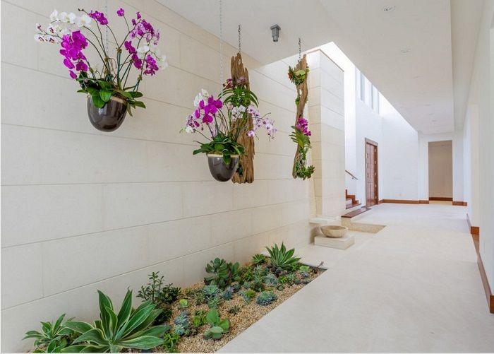 Стильное и очень интересное оформление мини-сада дома, что станет просто находкой.