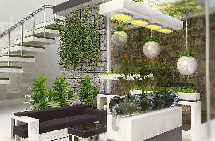 Страхотно настроение и просто добро решение за създаване на мини градина у дома, което би могло да бъде още по-добро.