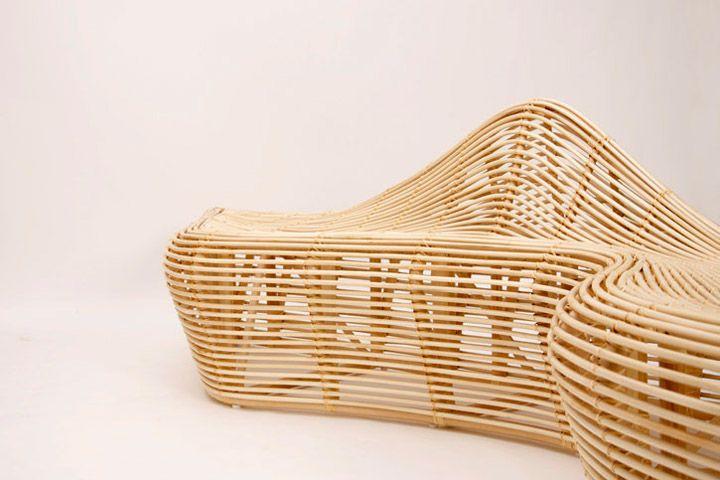 Красива пейка от ратан