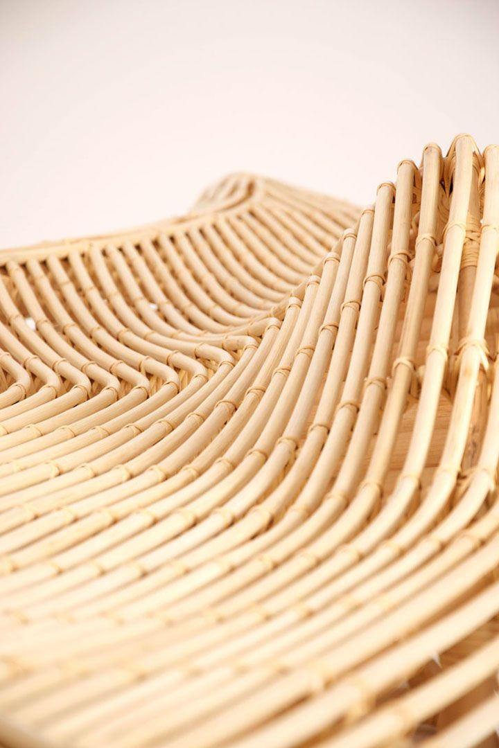 Nydelig Rattan Bench Seat