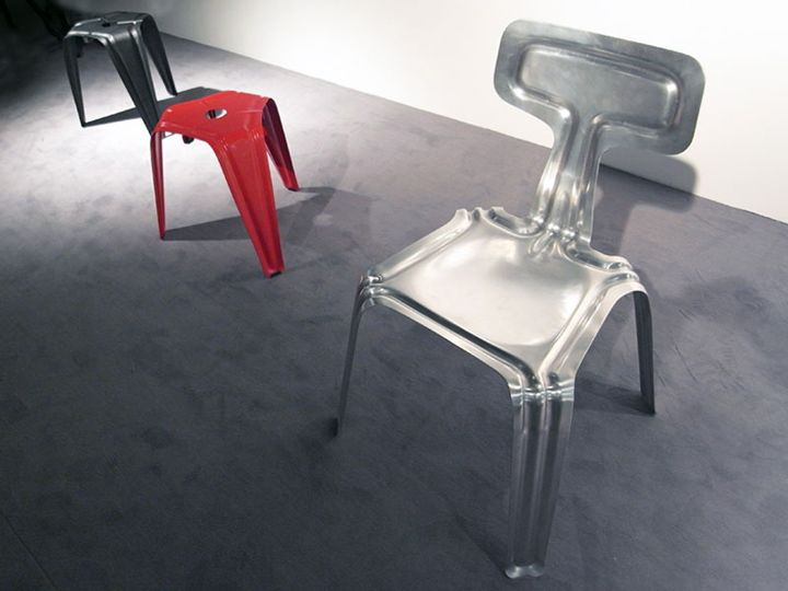 Красиви алуминиеви столове