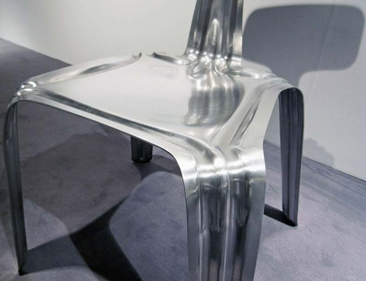 Здрава алуминиева седалка