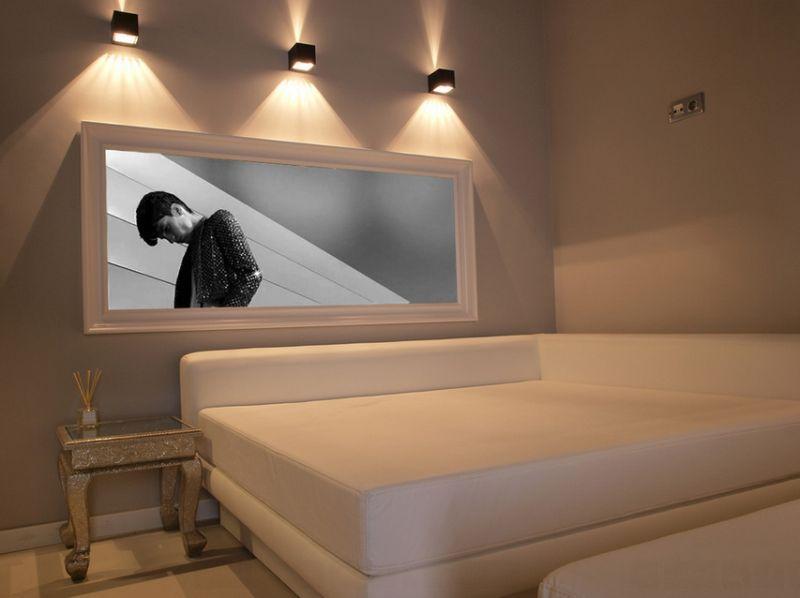 Необычное настенные бра в дизайне интерьера помещения