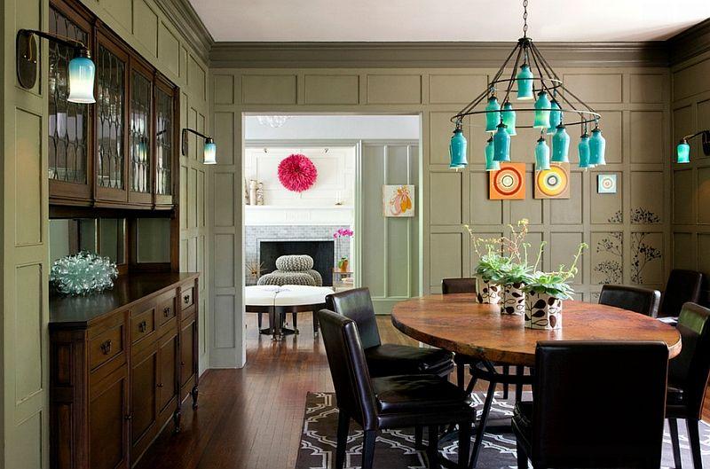 Overlegen belysningsarmatur i interiørdesign