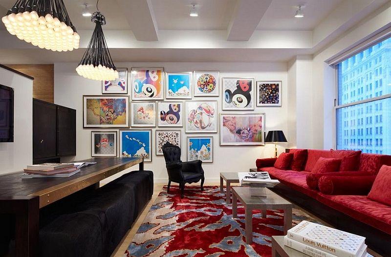 Utrolige lysarmaturer innen interiørdesign