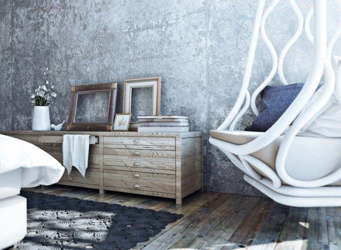 Эклектичный стиль приветствует использование старых вещей.