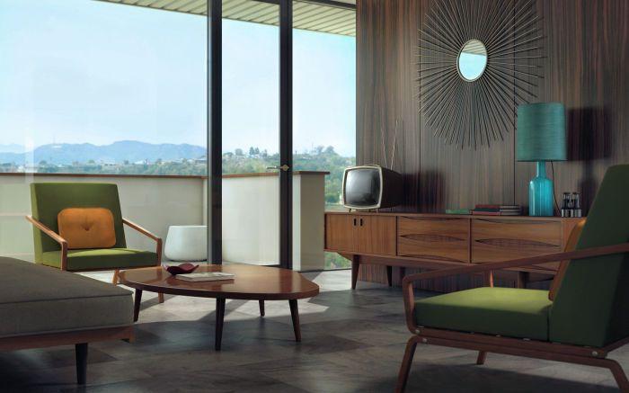 Массивную мебель лучше убрать из поля зрения.