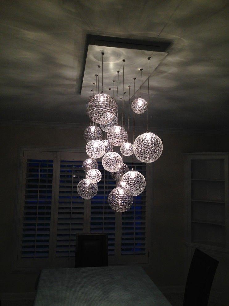 Подвесные шарообразные светильники