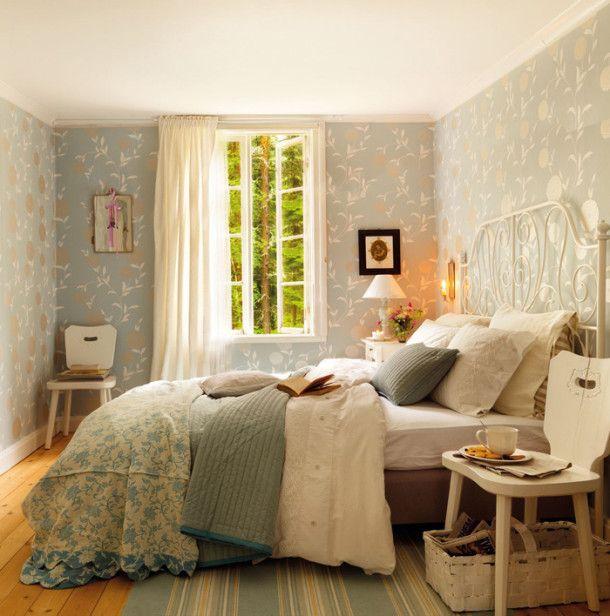 Sypialnia tradycyjne wnętrze