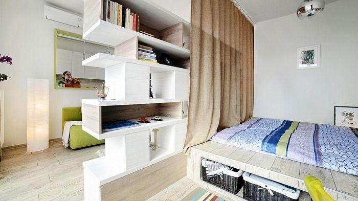 Добър пример за добър дизайн на стаята с отличен дял, който ще ви хареса.