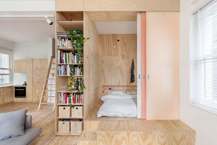 Успешно и отлично решение за създаване на готина дървена преграда у дома.