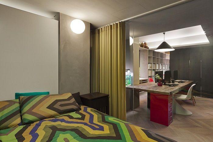 Подобряването на интериора на къщата е възможно благодарение на зонирането на пространството, което бързо ще преобрази атмосферата.