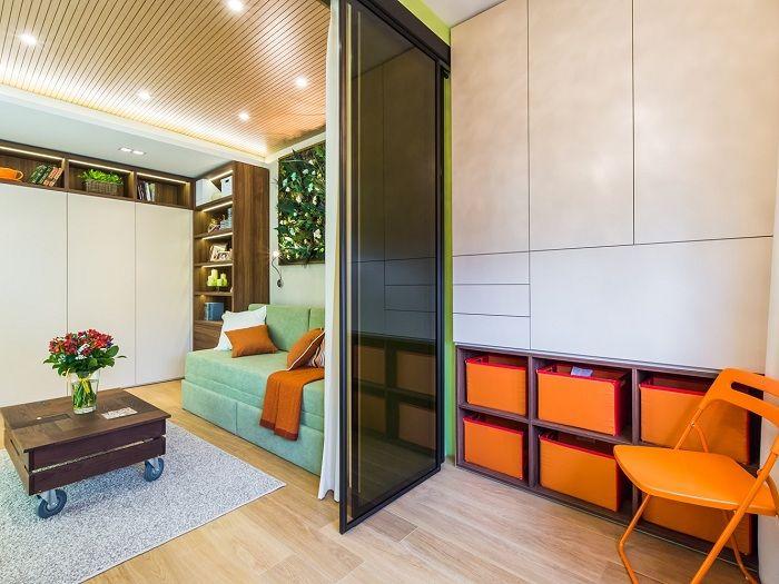 Възможно е да се подобри интериорът с помощта на правилната организация на пространството у дома с помощта на успешно разделение на помещенията.