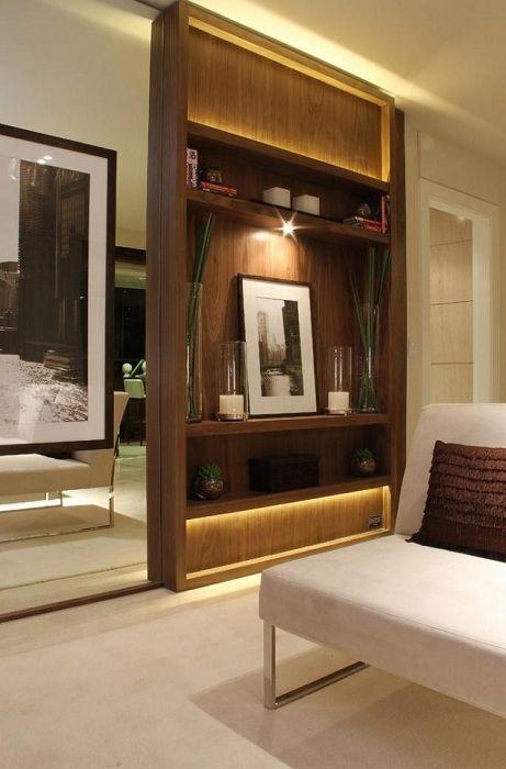 Практичен вариант за поставяне на дял между помещенията, който ще впечатли.