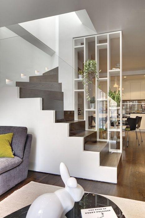 Чудесен пример за декорация на помещения и зониране на пространството.